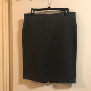Old navy grey pull up skirt